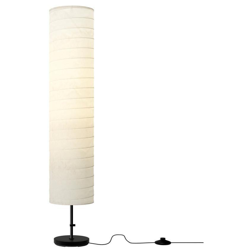 IKEA Holmo Lampu Lantai Hias Ruangan Floor Lamp Desain Minimalis Design Dekorasi Interior Rumah Pencahayaan Penerangan