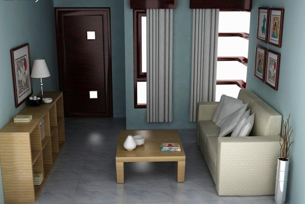 interior ruang tamu minimalis type 36