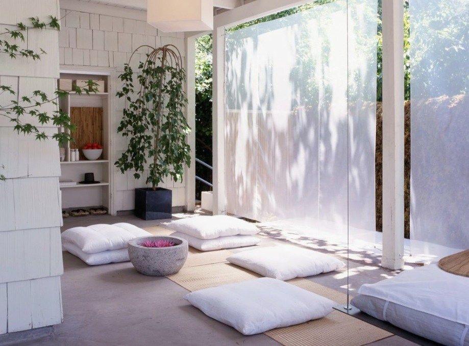 Interior Rumah Minimalis Ruang Meditasi