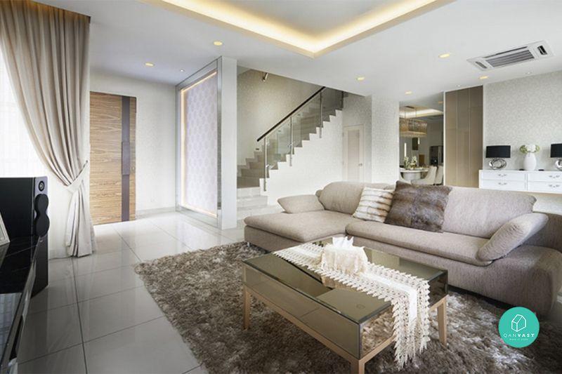 Dekorasi Hiasan Dalaman Terbaik Rumah Teres 3 Bilik Penting Hiasan Dalaman Ruang Tamu Apartment