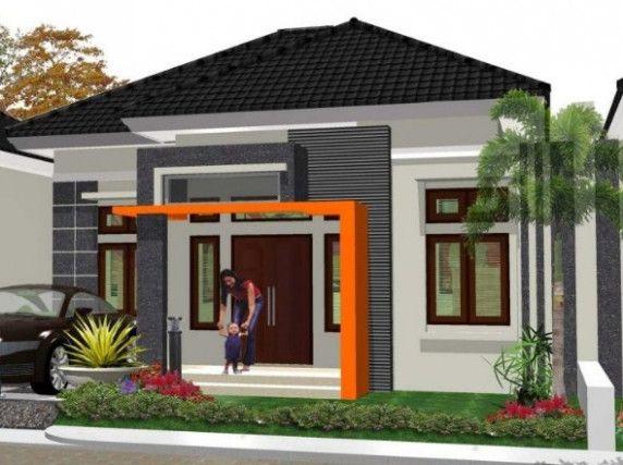 Contoh Gambar Terbaik Denah Rumah Minimalis Kampung Rumahku Site