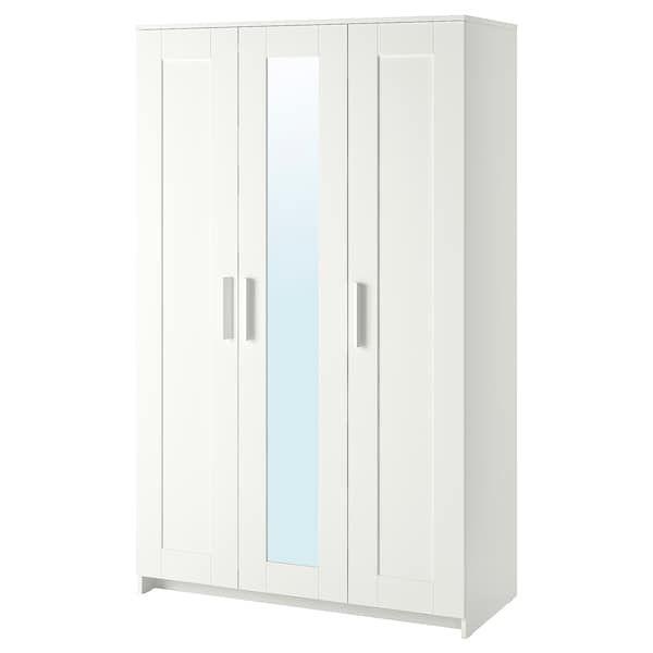 IKEA BRIMNES Almari pakaian 3 pintu
