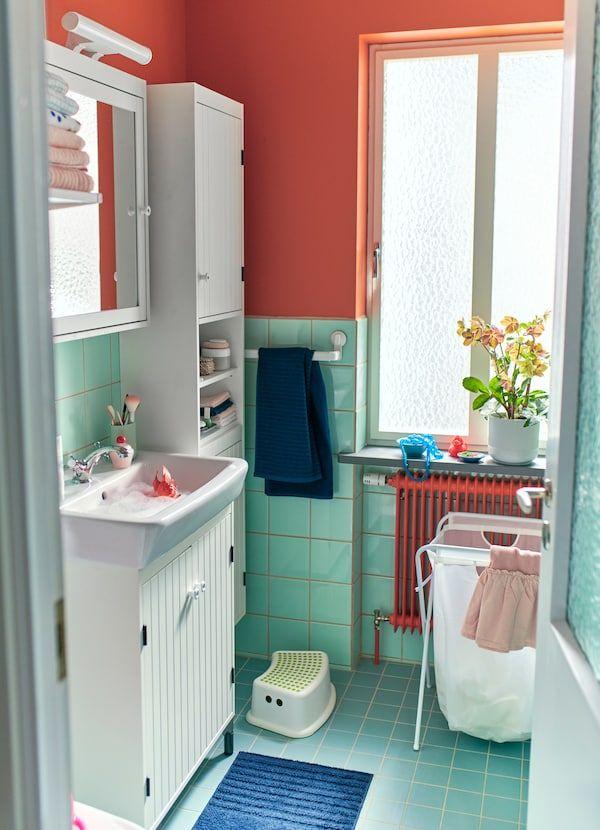 Bilik mandi kecil personaliti besar