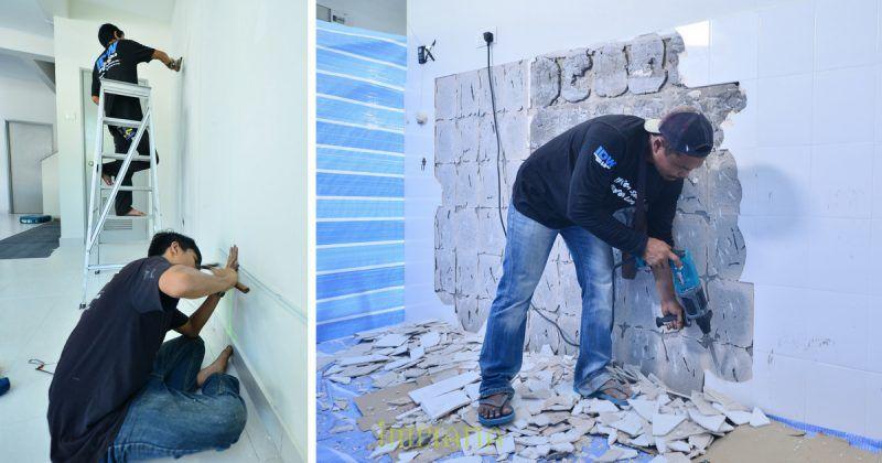 Susun atur Dinding Ruang Tamu Bermanfaat Gambar Ruang Tamu Hambar Transformasi Kediaman Ini Buktikan Tak