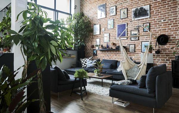 Kunjungan ke idea untuk kehidupan terbuka dan tersusun atur Ruang tamu