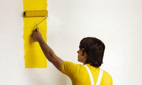 Fokus Utama dengan Warna Terang Duduk di muka pintu dan pandang ke dalam ruang Dinding manakah yang mula mula terpandang Dinding yang mula mula kita