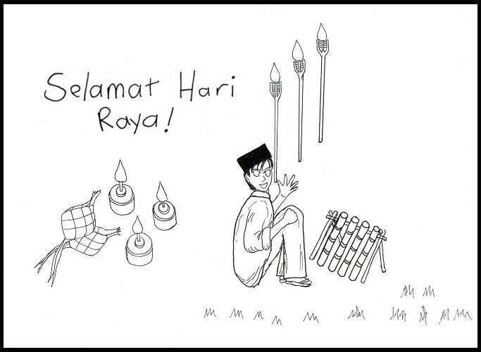 Selamat Hari Raya Kartun Terbaru Link Download Himpunan Contoh Buku Mewarna Kanak Kanak Yang Awesome