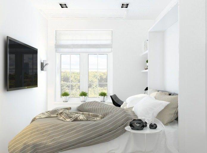 Hiasan Dalaman Rumah Pangsa Bermanfaat Susun atur Pangsapuri 2 Bilik Kecil Ruang Tamu Dalam Dua Keping