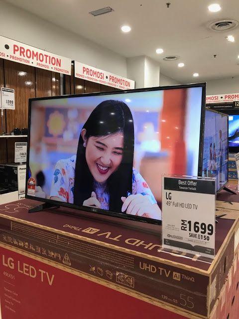 Susun atur Menarik Bersama Eric Rumah Teres Berguna Promosi Bayaran Balik Separuh Di Lulu Hypermarket Kuala Lumpur