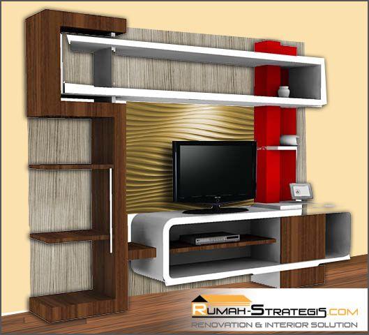 Tfq Architects Desain Rak Tv Dan Perincian Harga