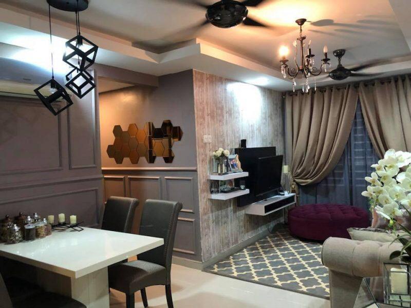 Transformasi Rumah Sempit 680 sqft Jadi Kondo Mewah & Elegan