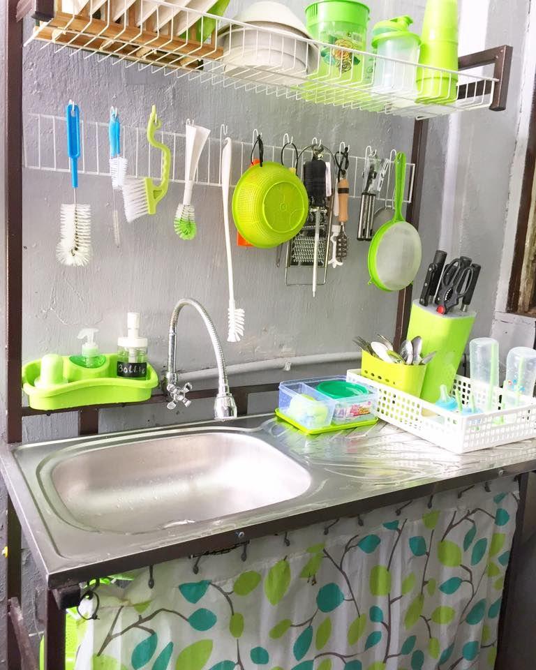 Guna Perabot Basic Untuk Dapur Sempit Tapi Ini Hasilnya Impiana Susun Atur