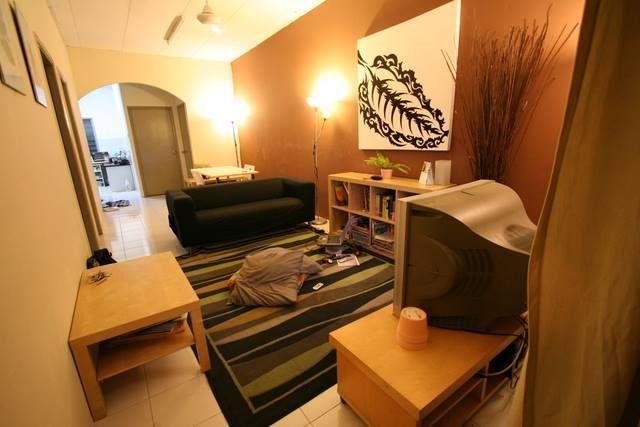 Deko Ruang Tamu Kecil Rumah Teres Bernilai Warna Hiasan Tips Dekorasi Bagi Rumah Flat atau Apartment