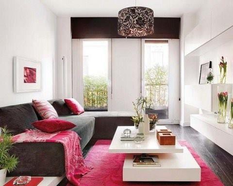 Susun atur Ruang Tamu Minimalis Meletup Warna Hiasan Tips Dekorasi Bagi Rumah Flat atau Apartment