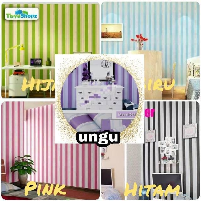 wallpaper motif bunga warna ungu untuk background tv shopee indonesia Bedroom Warna Ungu 20