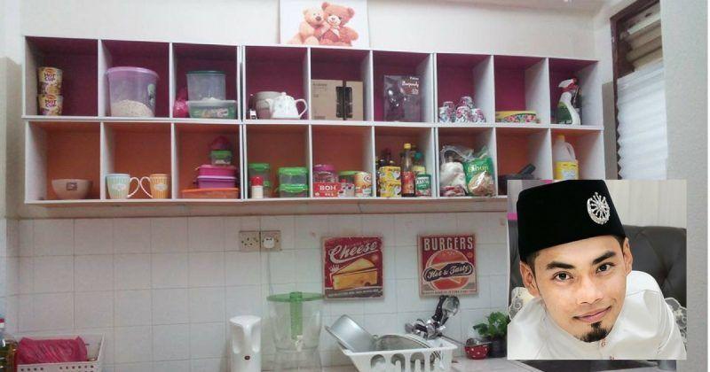 DIY Kabinet Dapur Dengan RM94 Sahaja Inspirasi DIY